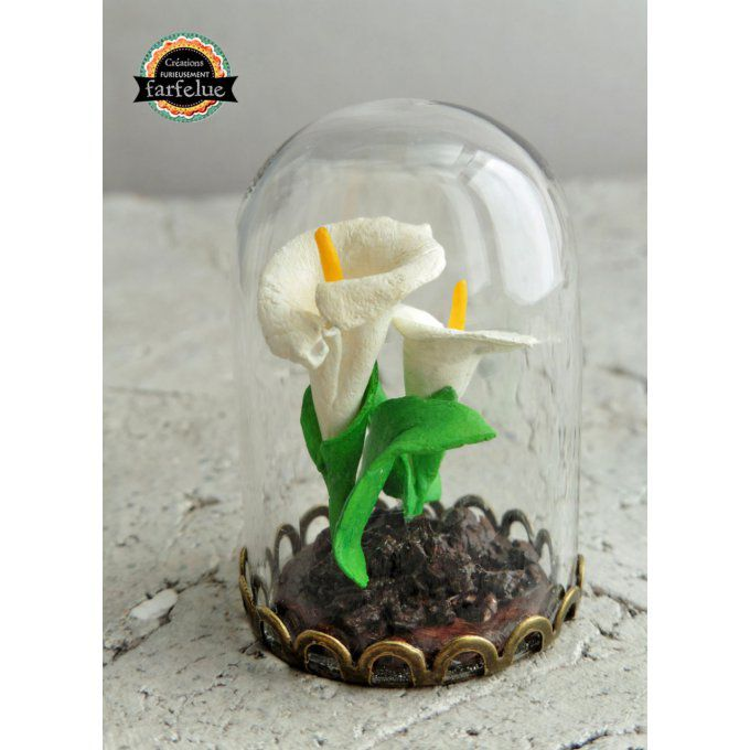 Mini décoration - Arums blancs